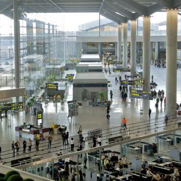 El aeropuerto de Málaga