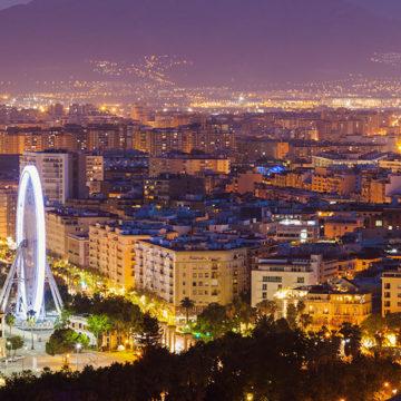 La noria en Málaga