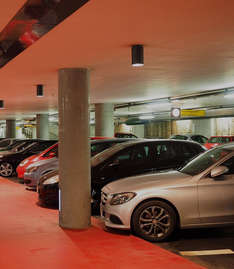 Parking privado para turistas