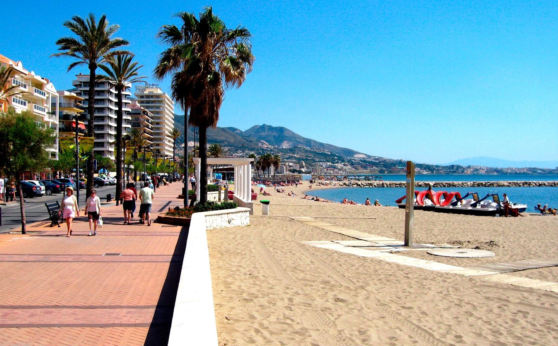 Playa Fuengirola Málaga