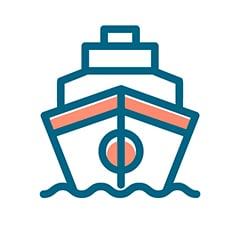 Barco icono