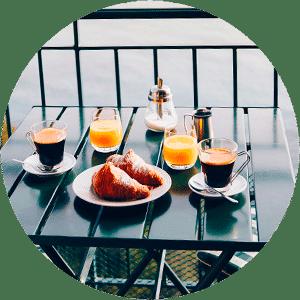 desayuno hotel malaga