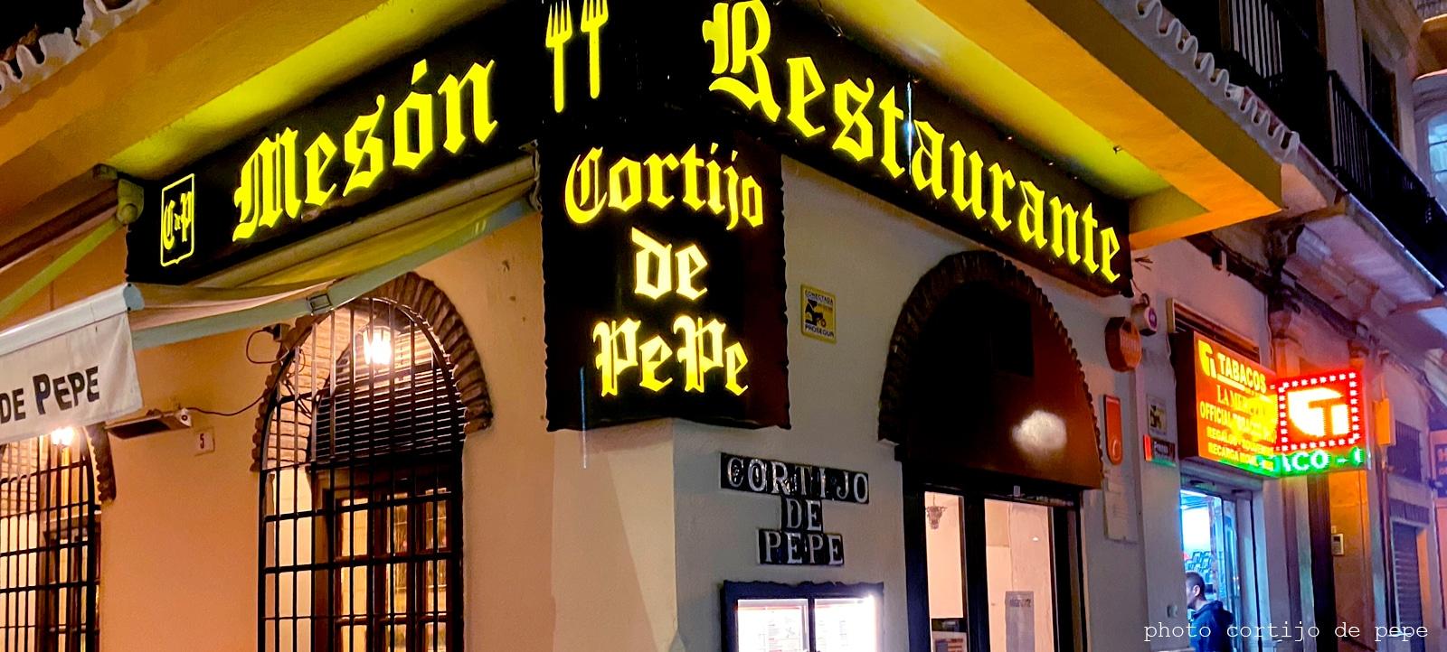 Mesón restaurante cortijo Pepe Málaga