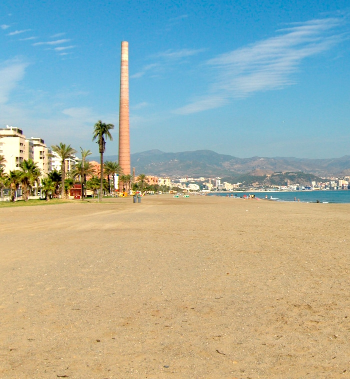 playa misericordia Málaga