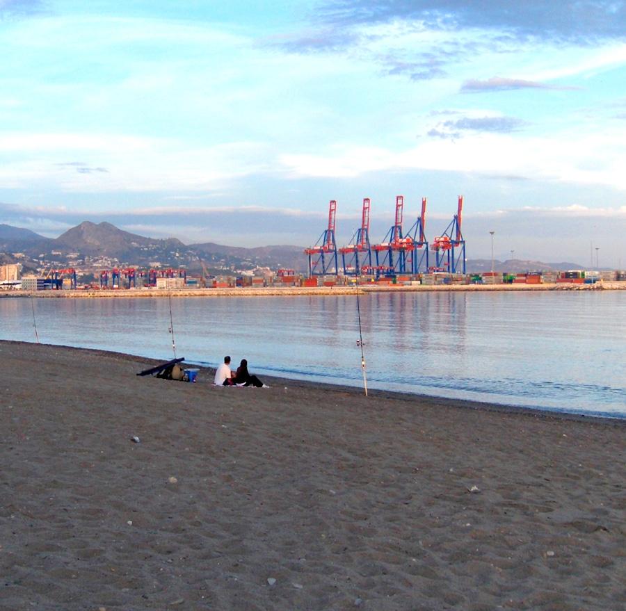playa huelin