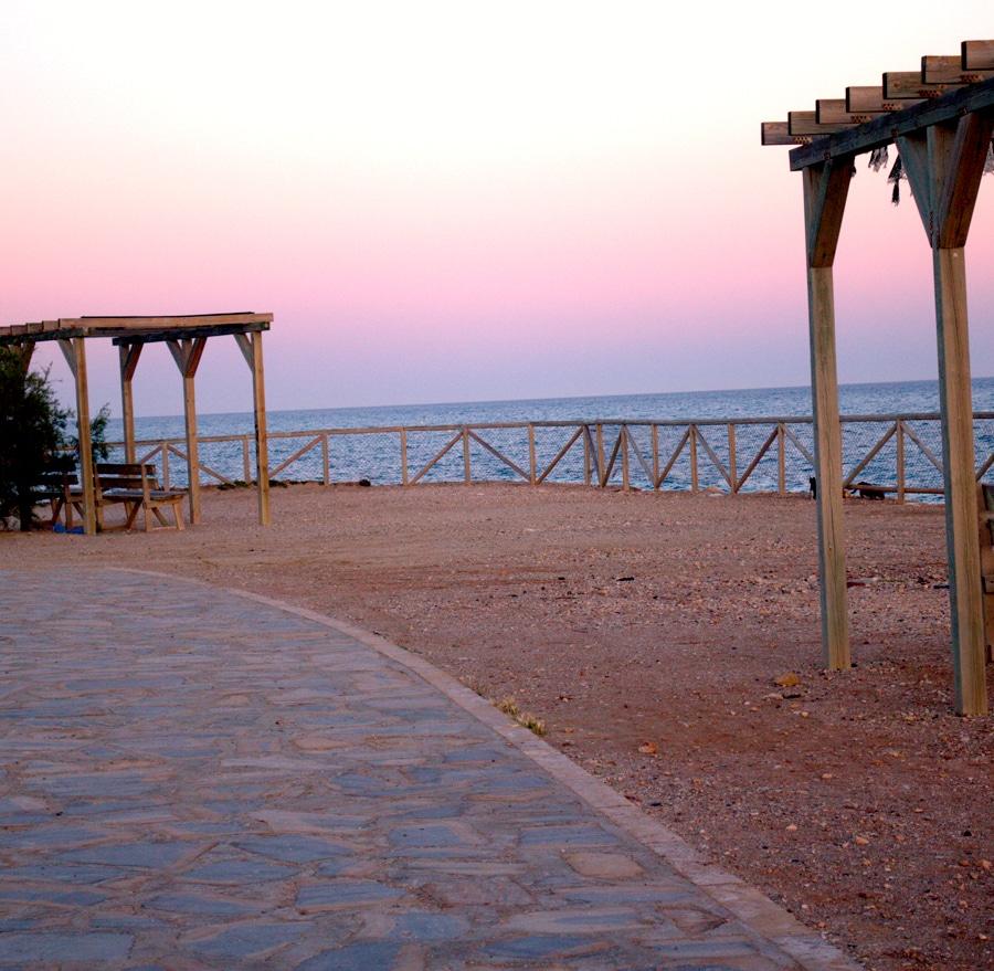 playa peñón malaga