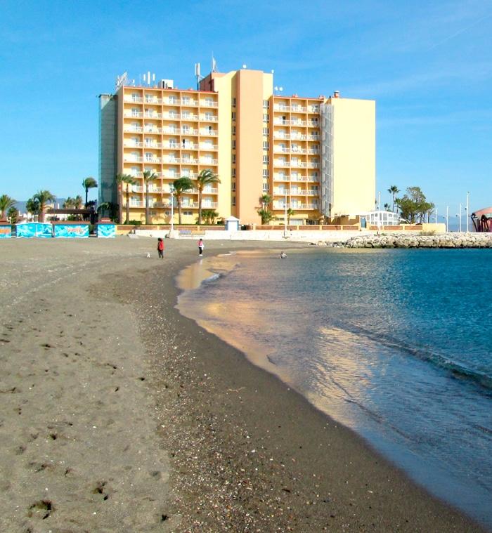 playa san Julián Málaga