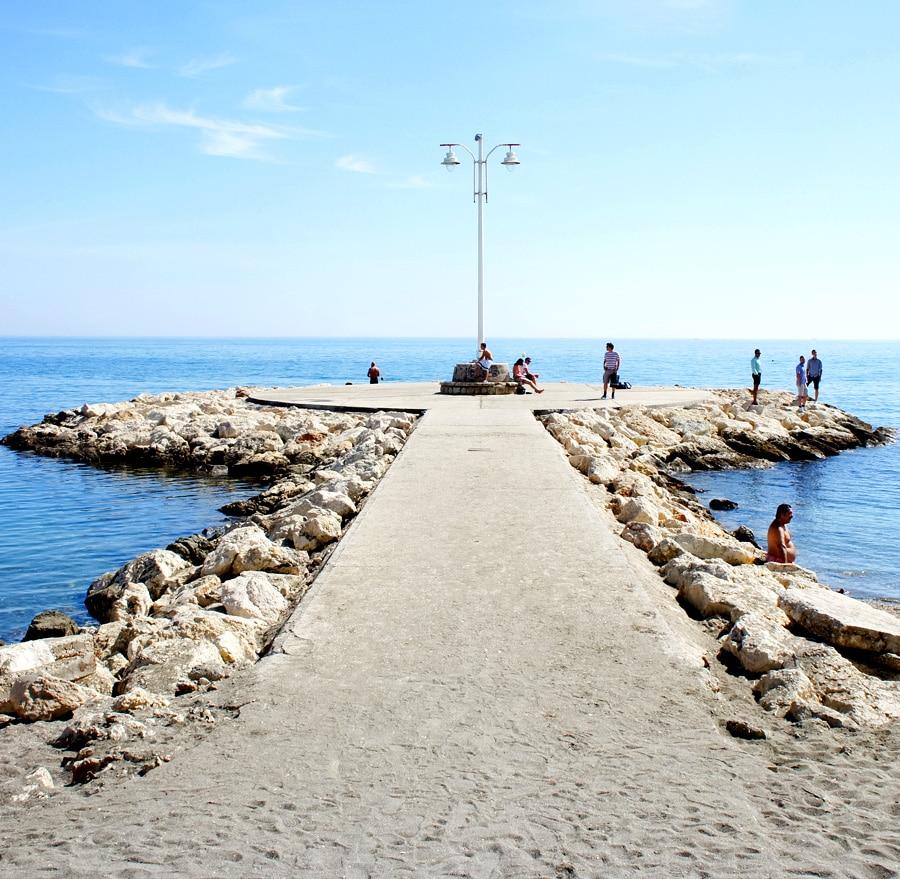 visitar playa pedregalejo malaga