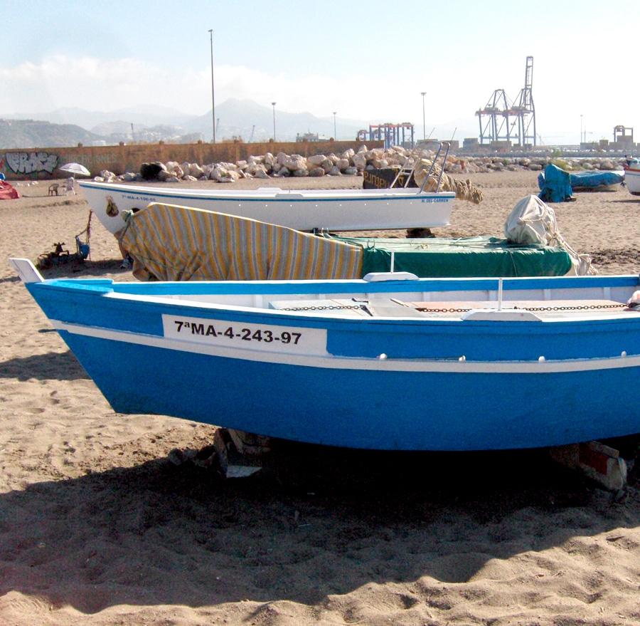 visitar playa san andres malaga