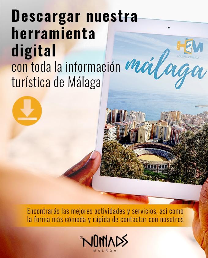 herramienta digital turismo malaga español
